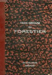 Vade-Mecum Du Forestier - Couverture - Format classique