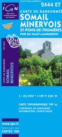 Somail, Minervois ; 2444 ET - Couverture - Format classique