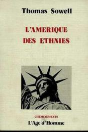 L'Amerique Des Ethnies - Couverture - Format classique