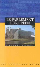 Guide du parlement europeen - Intérieur - Format classique