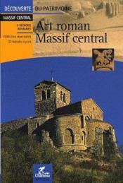 Art roman dans le massif central - Couverture - Format classique