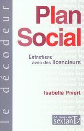 Plan social ; entretiens avec des licencieurs - Intérieur - Format classique