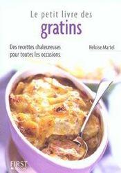 Le Petit Livre De Cuisine ; Des Gratins - Intérieur - Format classique