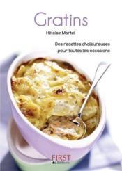 Le Petit Livre De Cuisine ; Des Gratins - Couverture - Format classique