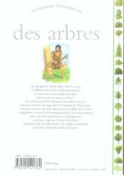 Des Arbres Et Des Forets - 4ème de couverture - Format classique