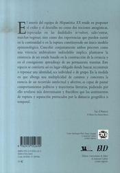 Exilios / desexilios en el mundo hispánico contemporáneo : los caminos de la identidad - 4ème de couverture - Format classique