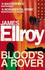 Vente livre :  Blood's a rover  - James Ellroy