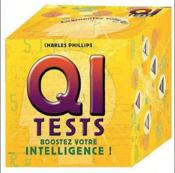 Vente livre :  Cube QI tests  - Charles Philipps