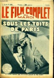 Le Film Complet Du Mardi N° 1155 - 11e Annee - Sous Les Toits De Päris - Couverture - Format classique