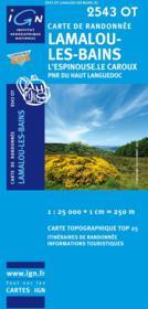 Lamalou-les-bains ; 2543 OT - Couverture - Format classique