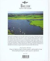Hollande - 4ème de couverture - Format classique