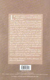 Les mages de sumer - 4ème de couverture - Format classique