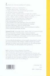 Le mystere du vivant t.1 ; le verbe et ses metamorphoses - 4ème de couverture - Format classique