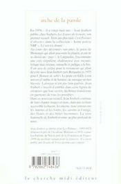 Arche De La Parole - 4ème de couverture - Format classique