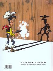 Lucky Luke t.36 ; western circus - 4ème de couverture - Format classique