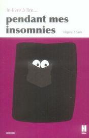 Le livre à lire pendant mes insomnies - Intérieur - Format classique