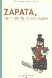 Zapata, en temps de guerre t.2 - Intérieur - Format classique