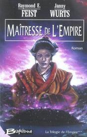 La trilogie de l'empire t.3 ; maîtresse de l'empire - Intérieur - Format classique