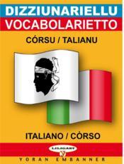 Corse-italien (mini dico) - Couverture - Format classique