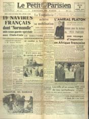 Petit Parisien Edition De Paris (Le) du 03/04/1941 - Couverture - Format classique