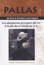 Revue Pallas - Couverture - Format classique