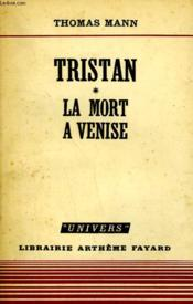Tristan. Tome 1 : La Mort A Venise. - Couverture - Format classique
