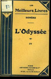 L'Odyssee Tome 4. Collection : Les Meilleurs Livres N°67. - Couverture - Format classique