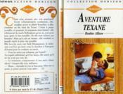 Aventure Texane - Temporary Texan - Couverture - Format classique