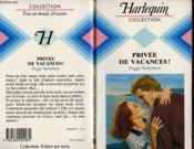 Privee De Vacances ! - The Darling Jade - Couverture - Format classique