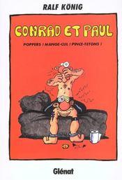 Conrad et Paul t.5 ; poppers ! mange-cul ! pince-tétons - Intérieur - Format classique