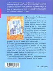 Un Tabou Nomme Alzheimer Nouvelle Edition - 4ème de couverture - Format classique