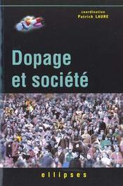 Dopage Et Societe - Intérieur - Format classique