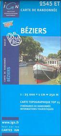 Béziers ; 2545 ET - Intérieur - Format classique