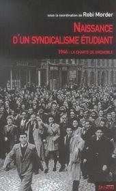 Naissance D Un Syndicalisme Etudiant - Intérieur - Format classique