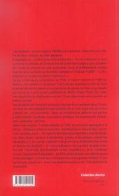Naissance D Un Syndicalisme Etudiant - 4ème de couverture - Format classique