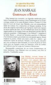 Charlemagne Et Roland - 4ème de couverture - Format classique