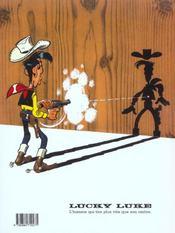 Lucky Luke t.39 ; chasseur de primes - 4ème de couverture - Format classique