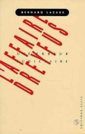 Affaire Dreyfus (L') - Couverture - Format classique