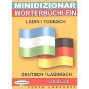 Mini-dico ladin-todesch / deutsch-ladinisch - Couverture - Format classique