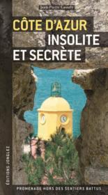 Côte d'Azur insolite et secrète - Couverture - Format classique
