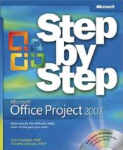 Vente livre :  Microsoft Office Project 2007 Step by Step  - Johnson