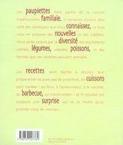 Des recettes des paupiettes - 4ème de couverture - Format classique
