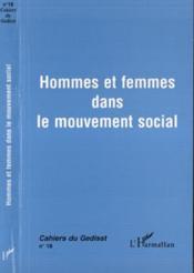 Hommes et femmes dans le mouvement social - Couverture - Format classique