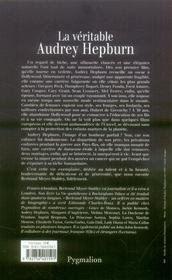 La Veritable ; La Véritable Audrey Hepburn - 4ème de couverture - Format classique