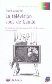 La télévision sous de Gaulle - Intérieur - Format classique