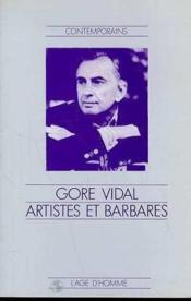 Artistes Et Barbares - Couverture - Format classique