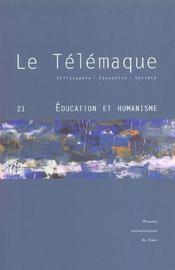 N 21 : Education Et Humanisme - Intérieur - Format classique