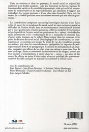 Acteur social ; le sujet et l'évaluation des politiques sociales. - 4ème de couverture - Format classique