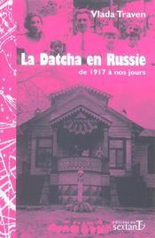 La datcha en Russie de 1917 à nos jours - Intérieur - Format classique