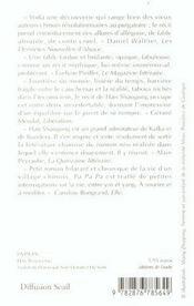 Pa Pa Pa - 4ème de couverture - Format classique